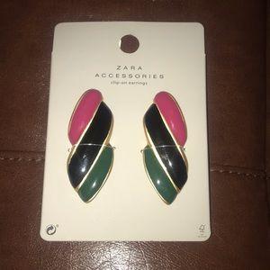 Zara | Clipon Earrings